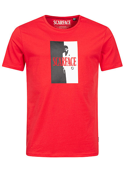 ONLY & SONS Mens T-Shirt Scarface Print high risk rot