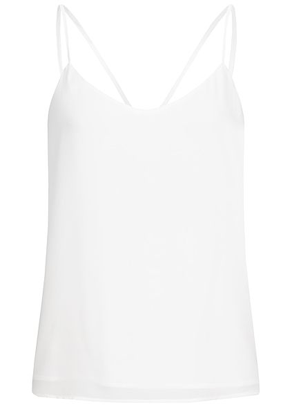 ONLY Damen 2-Layer Strap Top NOOS cloud dancer weiss