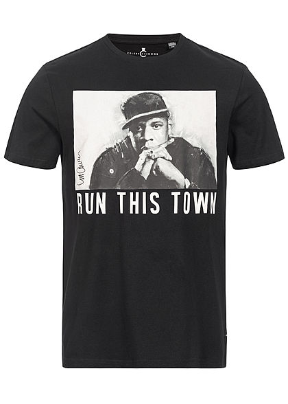 ONLY & SONS Mens T-Shirt Jay-Z Print schwarz