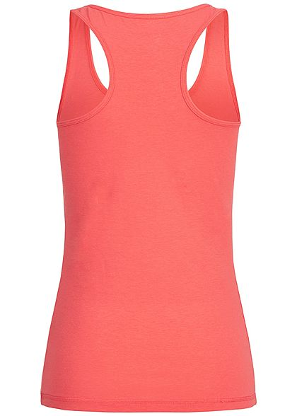 Seventyseven Lifestyle Damen Basic Tank Top corall pink