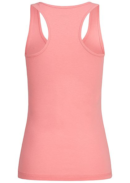 Seventyseven Lifestyle Damen Basic Tank Top pink