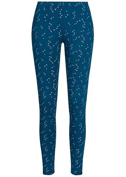 Seventyseven LifestyleDP Damen 2er-Set Leggings navy blau