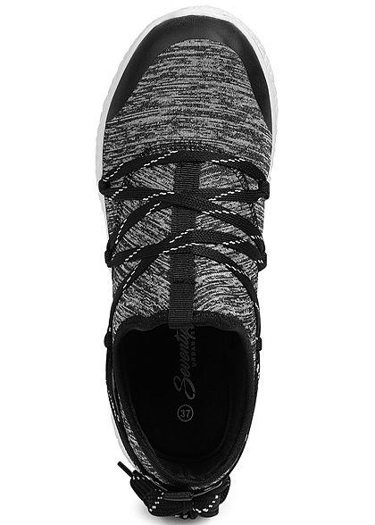 Seventyseven Lifestyle Damen Running Sneaker schwarz