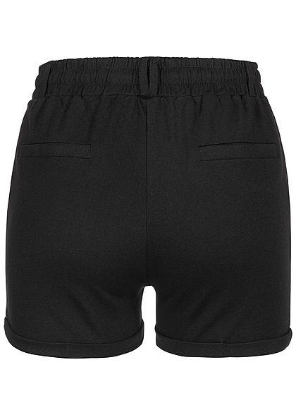 Seventyseven Lifestyle Damen Sweat Shorts 2-Pockets schwarz