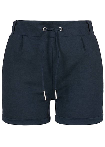 Seventyseven Lifestyle Damen Sweat Shorts 2-Pockets navy blau