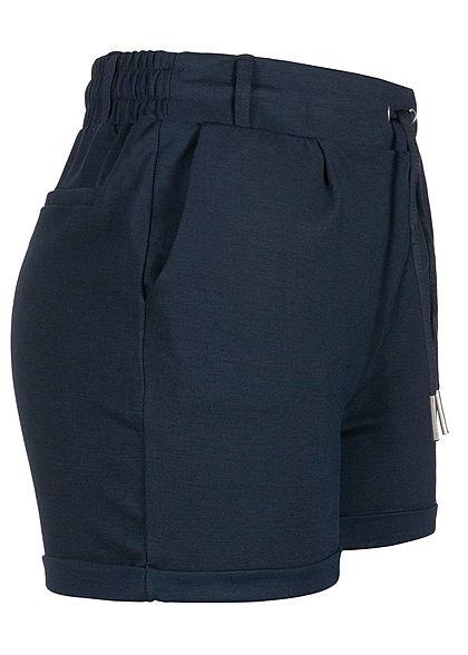 Seventyseven Lifestyle Damen Sweat Shorts 2-Pockets navy blau