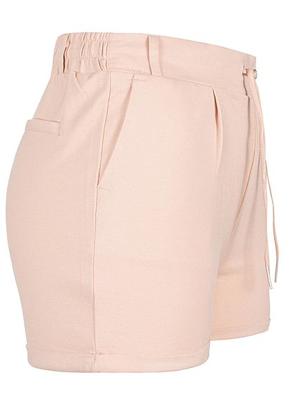 Seventyseven Lifestyle Damen Sweat Shorts 2-Pockets rosa