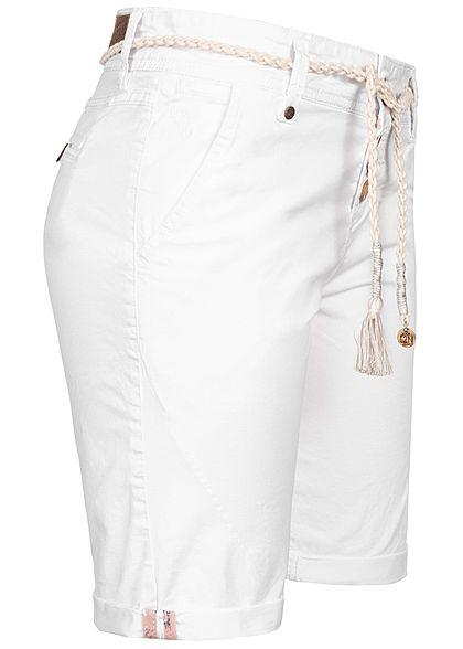 Shorts Bekleidung Eight2Nine Damen Short Jeansshort Sweat