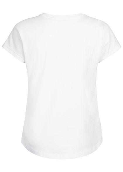 Name It Kids Mädchen T-Shirt Dance Vibes Glitter Print bright weiss gelb