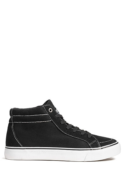Seventyseven Lifestyle TB High Canvas Sneaker schwarz
