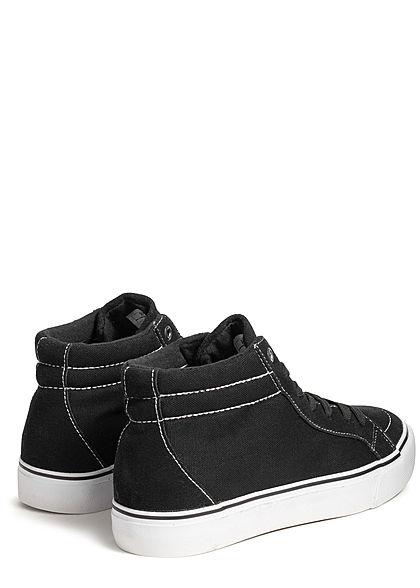 Seventyseven Lifestyle TB High Canvas Sneaker schwarz