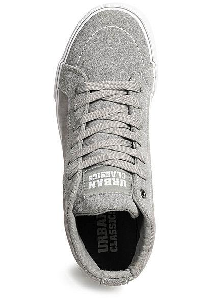 Seventyseven Lifestyle TB High Canvas Sneaker grau weiss