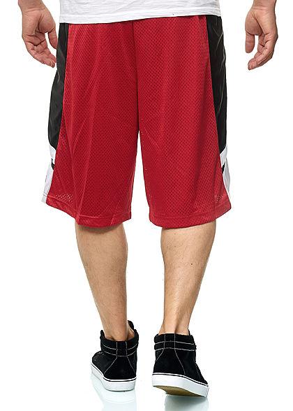Southpole TB Herren Mesh Shorts 2-Pockets rot