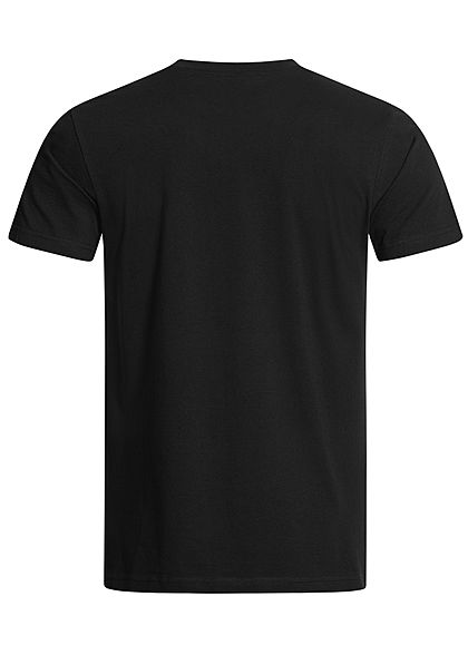 Wu Wear Herren T-Shirt Wu-Tang Logo schwarz gelb