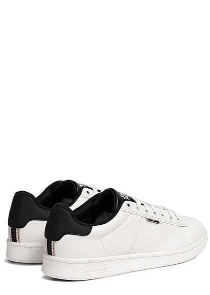 Jack and Jones Herren 2-Tone Sneaker weiss schwarz