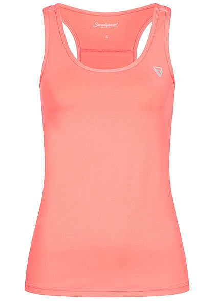 Seventyseven Lifestyle Damen Fitness Tank Top corall pink