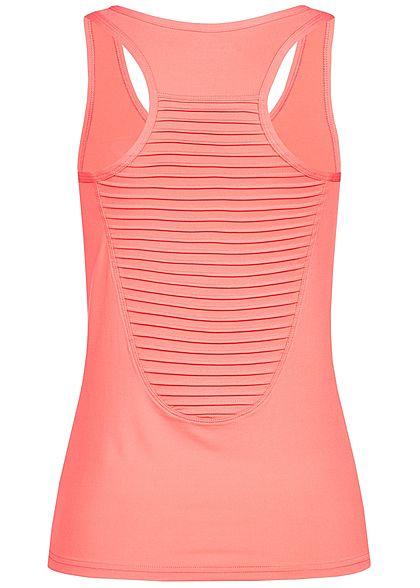 Seventyseven Lifestyle Damen Fitness Tank Top corall pink