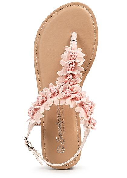 Seventyseven Lifestyle Damen Toe Post Sandals rosa