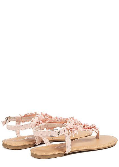 Seventyseven Lifestyle Damen Toe Post Sandals rosa