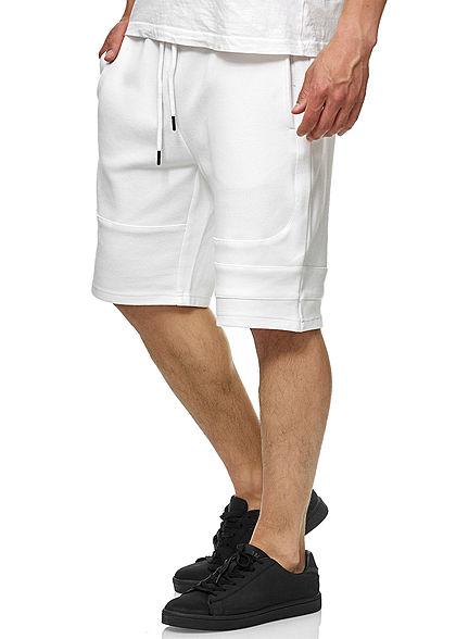 Seventyseven Lifestyle TB Herren Pique Shorts 3-Pockets weiss