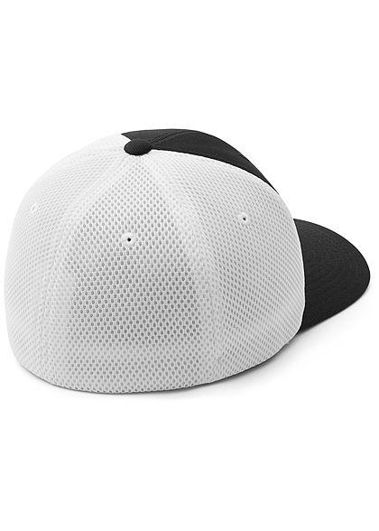 Flexfit TB 2-Tone Ultrafibre & Airmesh Cap schwarz weiss