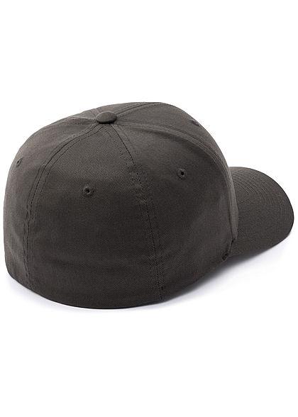 Flexfit Herren Basic Cap dunkel grau