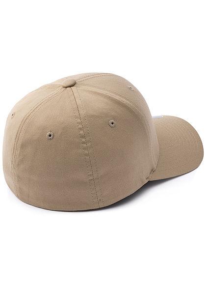 Flexfit Herren Basic Cap khaki grün