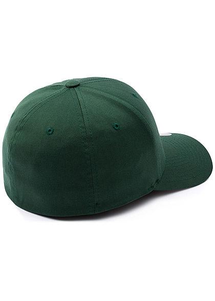 Flexfit Herren Basic Cap spruce grün