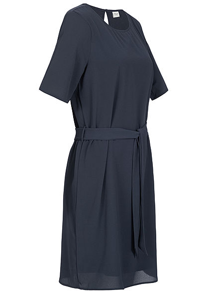 JDY by ONLY Belted T-Shirt Dress NOOS sky captain blau