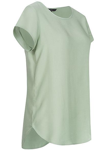 Vero Moda Damen Blouse Shirt NOOS jadelte grün