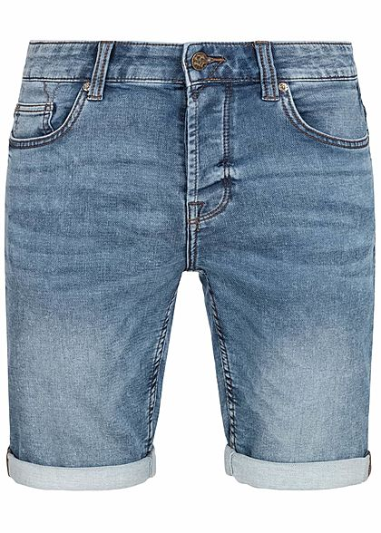 ONLY & SONS Herren Denim Sweat Shorts 5-Pockets NOOS blau