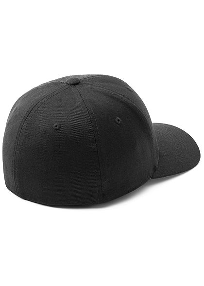 Flexfit TB Wool Blend Cap schwarz silber