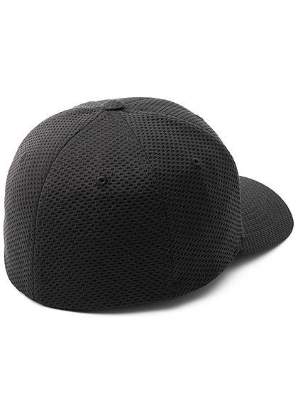 Flexfit Hexagon 3D Jersey Cap schwarz