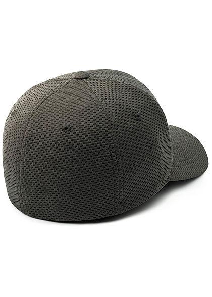 Flexfit Hexagon 3D Jersey Cap dunkel grau