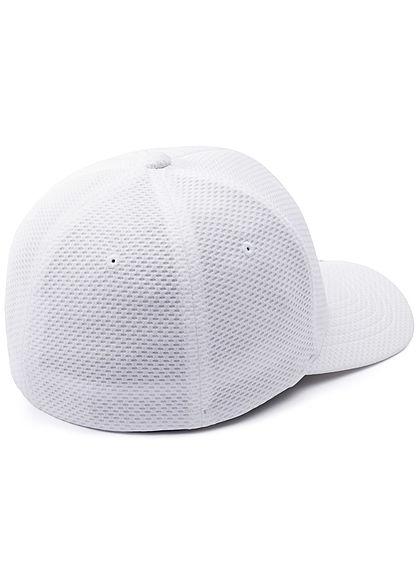 Flexfit Hexagon 3D Jersey Cap weiss