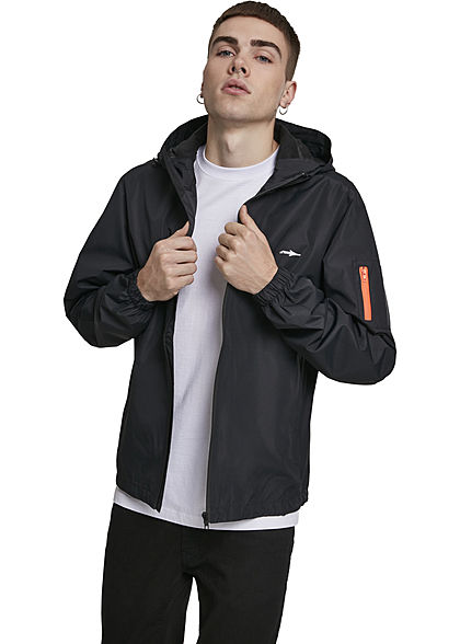 Illmatic Herren Windbreaker Dryhair Jacket 2-Zip Pockets schwarz