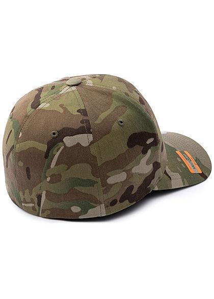 Flexfit Camouflage Design Cap camouflage grün