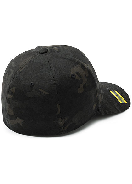 Flexfit Camouflage Design Cap schwarz camouflage