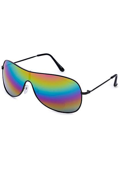 Seventyseven Lifestyle Unisex Big Glasses Sunglass Cat.3 UV-400 Protection multicolor