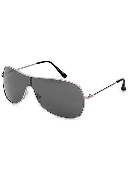 Seventyseven Lifestyle Unisex Big Glasses Sunglass Cat.3 UV-400 Protection schwarz