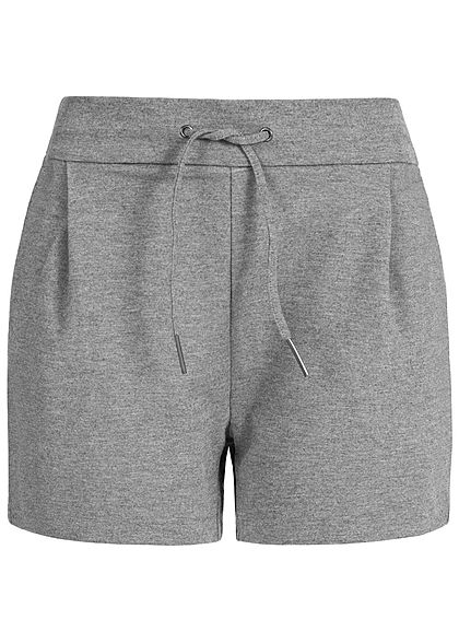Vero Moda Damen Sweat Shorts 2-Pockets grau
