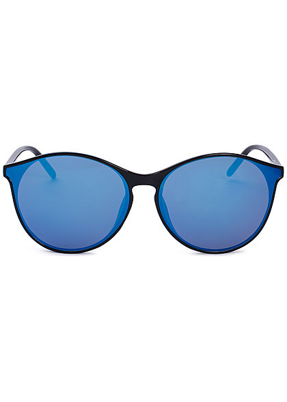 Seventyseven Lifestyle Damen Cat Eye Sunglasses UV-400 Protection schwarz blau