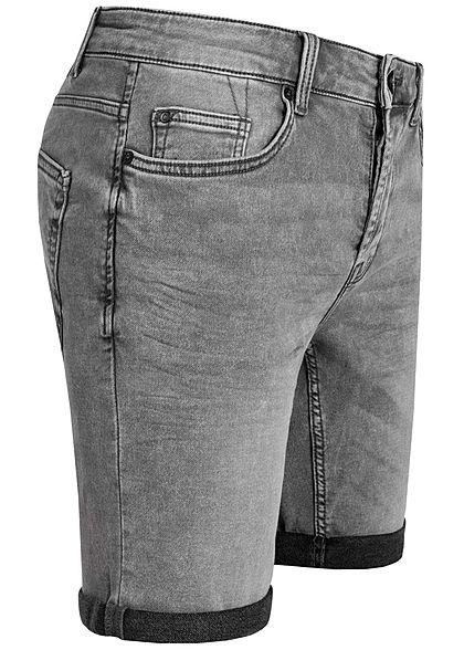 ONLY & SONS Herren Denim Sweat Shorts 5-Pockets NOOS hell grau
