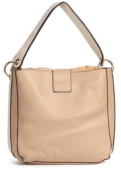 Styleboom Fashion Damen 2in1 Tote Bag khaki
