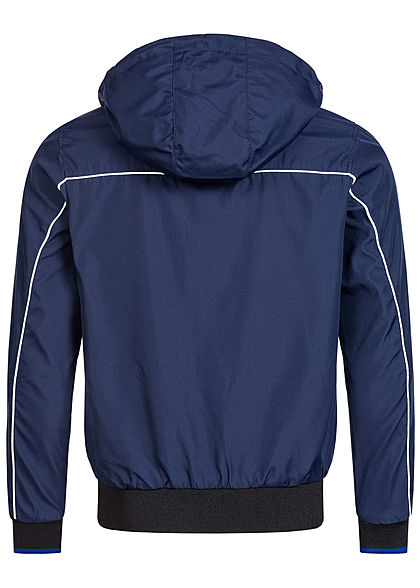 Jack and Jones Herren Works Jacket 4-Pockets maritime blau