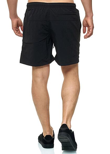 Seventyseven Lifestyle TB Herren Block Swim Shorts 2-Pockets schwarz
