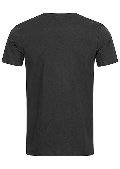 Jack and Jones Herren Basic O-Neck T-Shirt NOOS schwarz