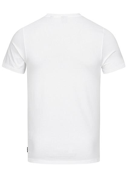 Jack and Jones Herren Basic O-Neck T-Shirt NOOS weiss
