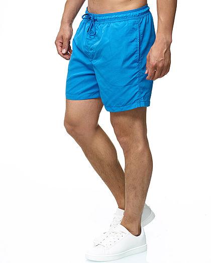 Jack and Jones Herren Short Swim Shorts 3-Pockets french blau