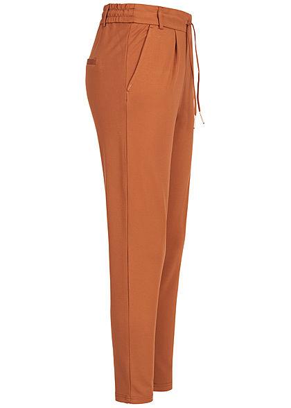 ONLY Damen NOOS Poptrash Hose 2-Pockets ginger bread braun